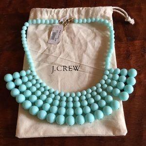 J.Crew beaded statement necklace